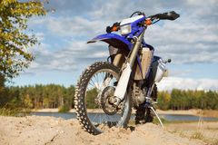Off-road motorbike Royalty Free Stock Photography