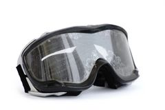 Off-road motorcycle goggles Royalty Free Stock Image