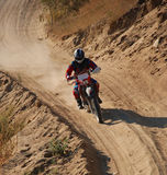 Off Road Motorcycle Racer 2. Off Road Motorcycle Racer in Baja California, Mexico Stock Images