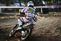 Off-road Motorcycle racing Royalty Free Stock Photography