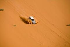 Off-road in the namibian desert stock photo