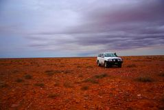 Off-Road in the Outback stock photography