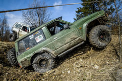 Off-road Penrite H6 4x4 competition royalty free stock photos