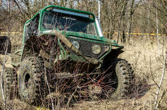Off-road Penrite H6 4x4 competition Royalty Free Stock Photo