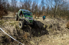 Off-road Penrite H6 4x4 competition Royalty Free Stock Images