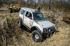 Off-road Penrite H6 4x4 competition Royalty Free Stock Photography