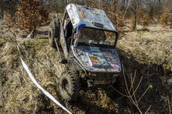 Off-road Penrite H6 4x4 competition Royalty Free Stock Image