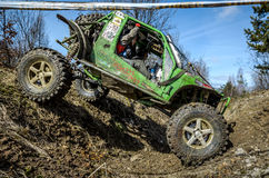 Off-road Penrite H6 4x4 competition Stock Image