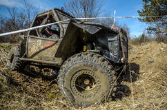 Off-road Penrite H6 4x4 competition Stock Photo