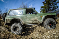 Off-road Penrite H6 4x4 competition Stock Images