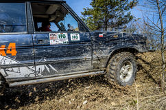 Off-road Penrite H6 4x4 competition Stock Photography