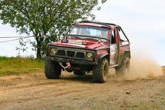 Off-road raceauto Royalty-vrije Stock Foto's