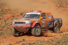 Off road racing Stock Images