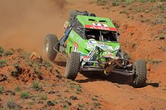 Off road racing. John Thompson and Clinton McNamara in their Zarco in action during a South African off road championship event, Bloemfontein, South Africa, 15 Stock Photo
