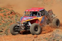 Off road racing. Gary and David White in their Ruwacon in action during a South African off road championship event, Bloemfontein, South Africa, 15 October 2011 Stock Images