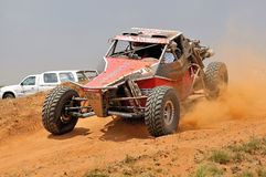 Off-road racing Stock Image