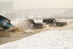 Off-road racing jeeps,  festival Stock Photos