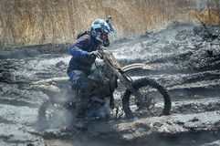 Off-road rider Stock Images