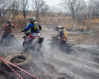 Off-road riders Royalty Free Stock Photo
