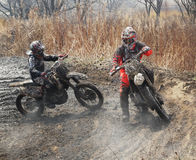 Off-road riders Royalty Free Stock Image