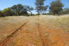 Off Road Track Australia Royalty Free Stock Photos