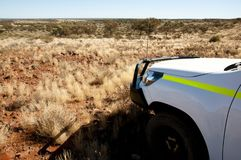 Off Road Track. In the Outback stock image
