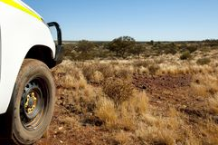 Off Road Track. In the Outback stock images