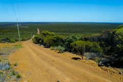 Off Road Track. Remote Off Road Outback Track royalty free stock photos
