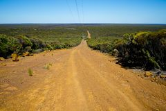 Off Road Track. Remote Off Road Outback Track royalty free stock photography