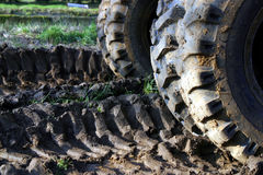 Off-Road Tracks Royalty Free Stock Image