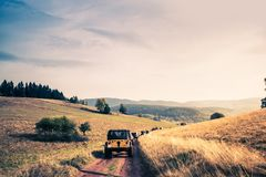Off Road Trail Adventure Royalty Free Stock Images