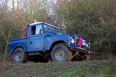Off road trials Stock Image
