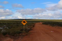 Off-road trip in the Australian outback Royalty Free Stock Images