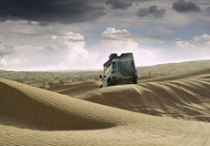 Off road in Tunisia Stock Image