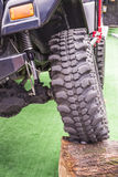 Off-road vechicle traction system display Stock Image