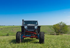 Off-road vehicle. Before competition Stock Image