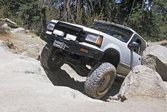 Off-road vehicle. Off-roading in southern california Stock Photos