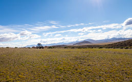 Off-road vehicle in Bolivean altiplano - Potosi Department, Bolivia Royalty Free Stock Photo