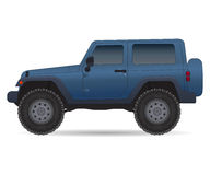Off road vehicle, car for bad roads Royalty Free Stock Photo