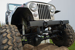 Off Road Vehicle Front End Stock Photography