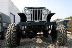 Off Road Vehicle Front End Royalty Free Stock Photos