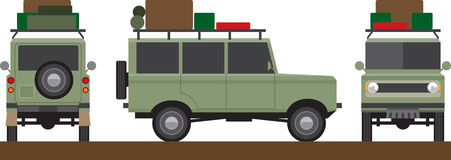 Off road vehicle Royalty Free Stock Photo