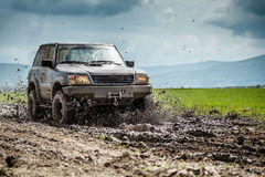 Off-road vehicle royalty free stock photos