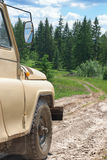 Off-road in the mountains Royalty Free Stock Photos