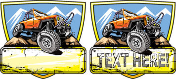 Off road vehicle Stock Photo