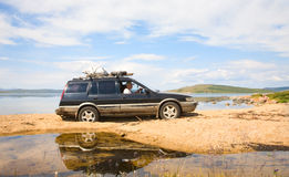 Off-road vehicles Royalty Free Stock Photo