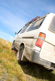 Off-road vehicles Stock Images