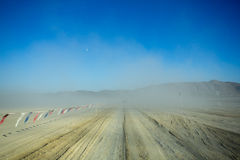 Off road 4X4 wheel tracks Royalty Free Stock Photo