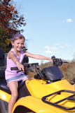 Off Roading on a Four Wheeler Stock Images