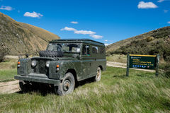 Off-roading i Nya Zeeland Fotografering för Bildbyråer